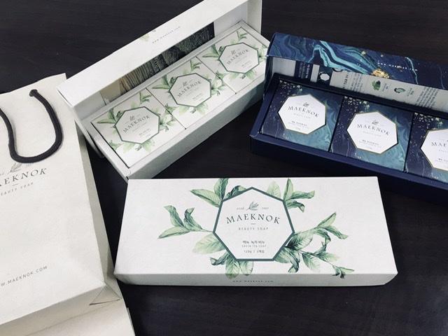 맥녹녹차비누 (120gx3개입) 클렌징 천연 세안 바디 헤어 답례품 선물세트