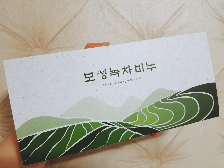 보성녹차비누 (100gx3개입) 클렌징 천연 세안 바디 헤어 답례품 선물세트