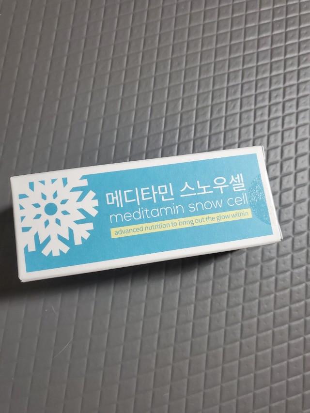 메디타민 스노우셀 4주분 <br>(이너뷰티 제품)