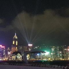 홍콩 야경 with 심포니오브라이트