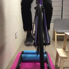 첫 자전거 로라 적응 - 재앙수준^^