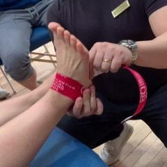 발목테이핑- 거골변위