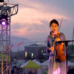 [양양비치마켓공연] 맘마미아_바이올린연주