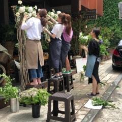 <전문가반과정>STEP 11. 다양한 형태의 꽃으로 아치제작해보기!