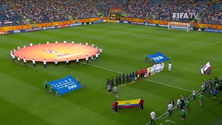 청소년 축구, 에콰도르 4강전까지 하이라이트 영상