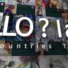 """[해외교류전시] 블루캔버스 갤러리 1st - """"HELLO? I AM"""" 헬로아이엠 exhibition with 4BD studio & Blue canvas 홍대전시회(포비디)"""