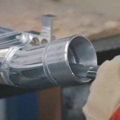 영국 forge의 인터쿨러 생산 모습