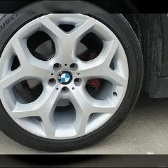 휠도색유명한곳 BMW X6 순정휠복원 휠도색 화이퍼실버!