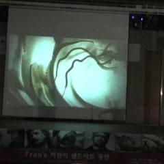 '거리로 나온 예술' 화정중앙공원 샌드아트 공연