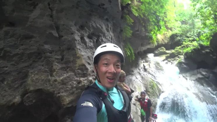 세부캐녀닝투어 익사이팅 폭발 리얼 후기!