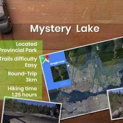 캐나다 드론 영상 미스터리 레이크 (Mystery Lake)