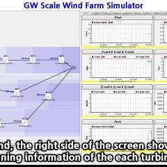 풍력단지 실시간 시뮬레이터(RTS: Real-Time Simulator) 시연 동영상