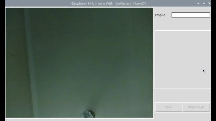 얼굴인식을 이용한 출퇴근 관리 시스템 -part6(Tinker &OpenCV를 이용한 촬영영상 다루기)