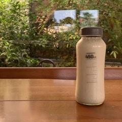 (제주바나나) 무농약 제주바나나로 바나나 우유 만들기