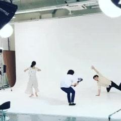커버댄스, 현대무용 대형호리존 영상촬영
