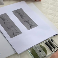 [안양미용학원] 에르모소안양점 에서 속눈썹연장 을 배워보아요~♡