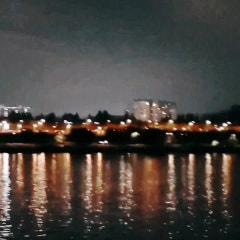 유람선에서 바라본 한강 야경