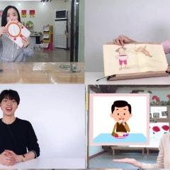 유치원 원격수업 (비상교육 EBS누리샘 온라인 유아학교) 메이킹 영상