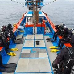 스쿠버다이빙| 스쿠버 다이빙 입수방법 알아보기 - 백롤