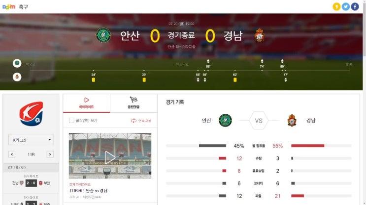 K2리그 안산 경남 리뷰, 설기현 감독이 하고자 하는 축구가 뭐에요?