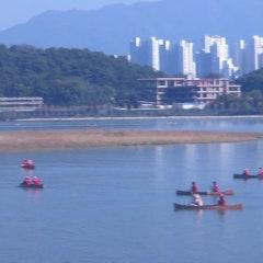 춘천카누 - 춘천의암호물레길 .. 내가 한국에서 이런 신선놀음을 하다니
