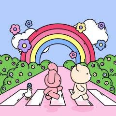 핑크와 벤이 누구일까요? 벅스에 등장한 세 친구들을 소개합니다