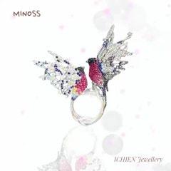 쥬얼리디자이너의 디지털 렌더링 프로크리에이트 ichien jewellery