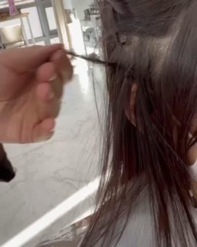 [남양/남양읍미용실] 머리 맛집 H하우스 붙임머리제거!