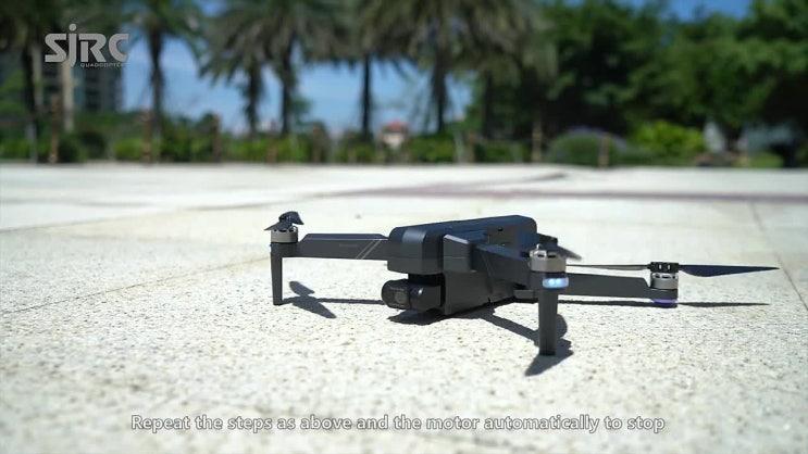 SJRC F11 프로 4K GPS 드론 5G 와이파이 FPV 듀얼 카메라 2축 짐벌 50X줌 Brushless 쿼드콥터 - 알리 직구