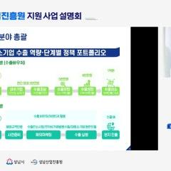 [2021년 성남산업진흥원 지원사업 설명회 '경기지방중소벤처기업청']
