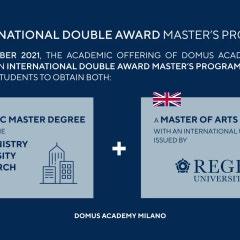 [도무스아카데미]더블디그리 + 런던 리젠츠 대학 Ι 석사학위 수여 프로그램