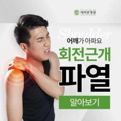 어깨회전근개파열증상 팔이 잘 안 움직이고 아파요