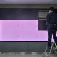 부산시교육청 브리핑룸구축 대형LED스크린으로 완성