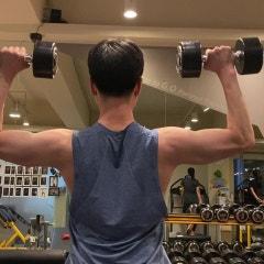 남자 어깨운동 기본 상체 프레임 만들기!