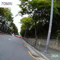 샤오미 70 MAI 블랙박스 VS 소니 FDR-X3000R 액션캠 화질비교