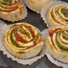 레시피응용+토마토&바질 롤빵]글루텐프리 쌀빵