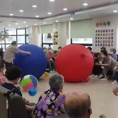 덕양구 화정 주간보호 센터의 실버스포츠 활동