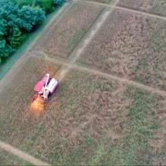 2021년 여름 밀수확 _ 수확도 풍경이 되는..