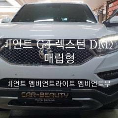G4 렉스턴 DMX 비노출 매립형 무드등 대구 엠비언트 카뷰티