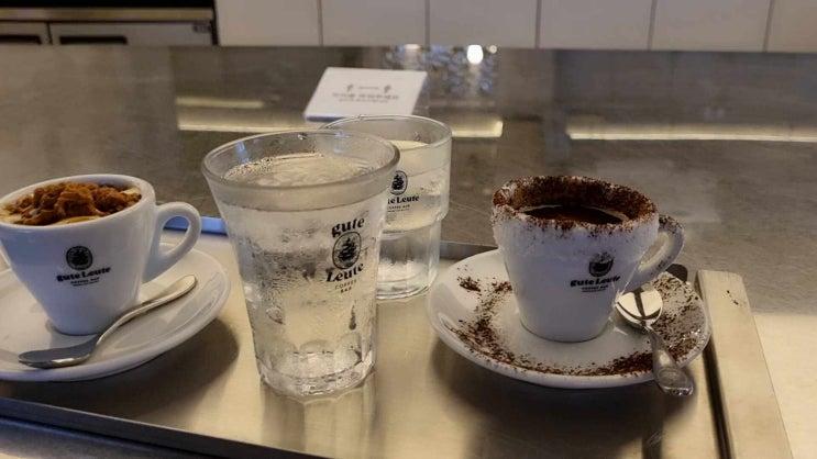 구테로이테 에스프레소 바 / 맛 서비스 가격 삼박자 갖춘 강남구청역 카페