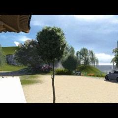루미온으로 렌더링한 한옥 영상