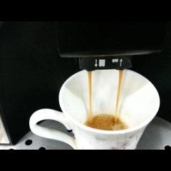 맛있는 카페아메리카노 한잔의 크레마가 풍부하지 않나요