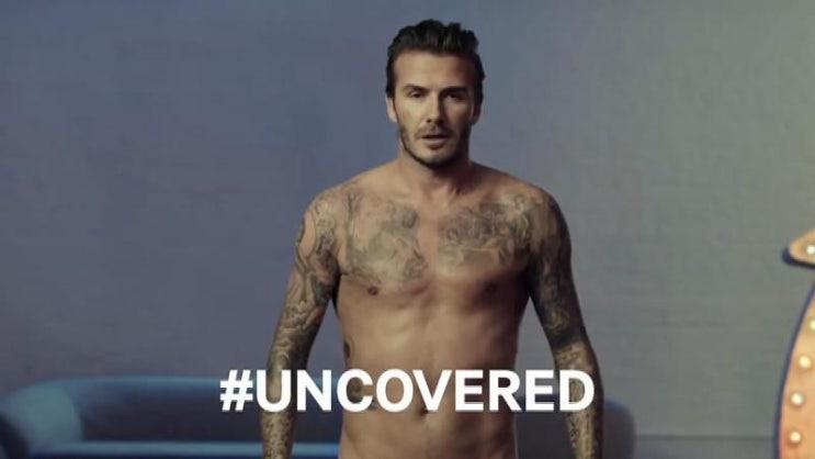 [2014 슈퍼볼] 데이비드 베컴이 언더웨어를 입을지 말지는 투표에 의해 결정? 사용자 참여 결과로 광고의 결말이 바뀌게 되는 H&M의 소셜 캠페인 광고 - H&M #Covered or #Uncovered?