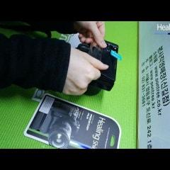 힐링쉴드 소니 알파 A7S 카메라 액정보호필름 부착동영상