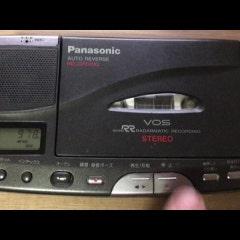 파나소닉의 탁상형 워크맨, RQ-L500