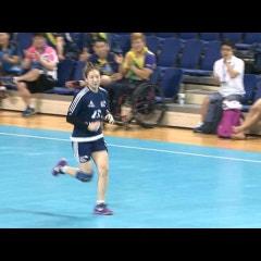 부산 국제친선 여자클럽 핸드볼대회(부산시설공단 vs 중국 산둥)