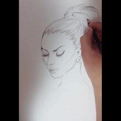 Sketch test - 스케치 테스트 - Kaze Park Style - 카제박 드로잉 - 4BD 포비디