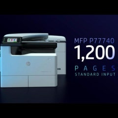 HP PAGEWIDE A3 시리즈 동영상