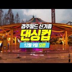 12월 9일 경주월드 신상 어트랙션 댄싱컵 오픈