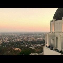영화 라라랜드 촬영지, LA 그리피스 천문대의 노을과 야경 타임랩스 영상